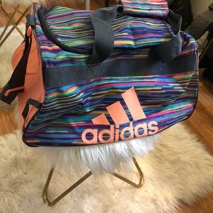 Adidas multicolored gym back in great condition